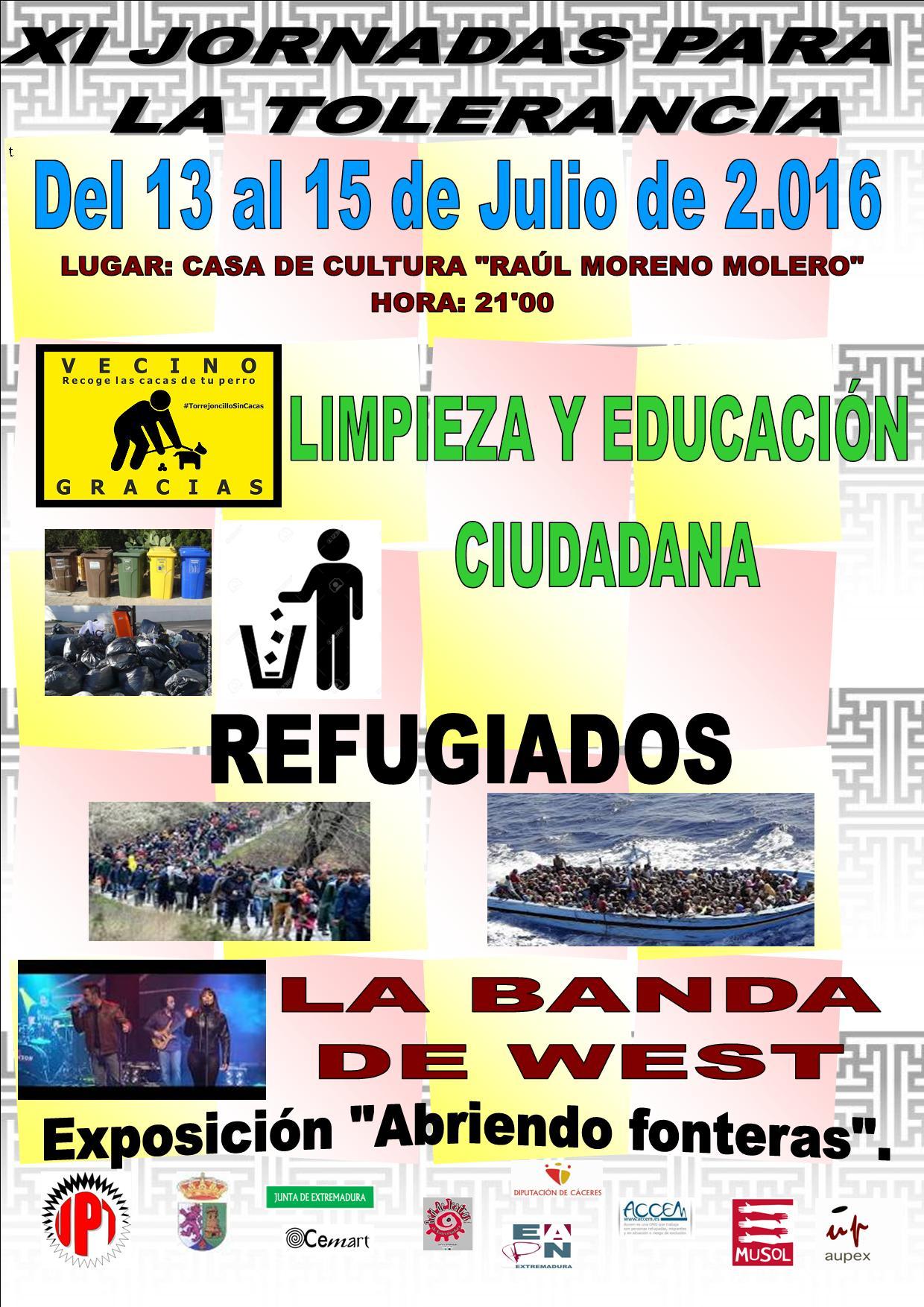 XI Jornadas para la tolerancia 2016